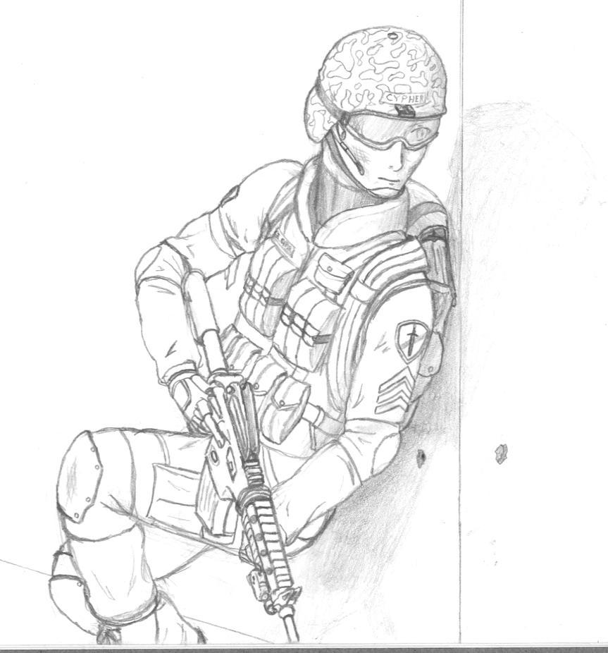 Army Ranger Unfinished Cypherx Deviantart