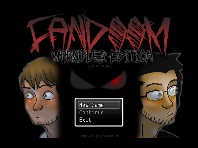 FULL GAME!!! Fandoom: Markiplier Edition by Art-of-KBMiller