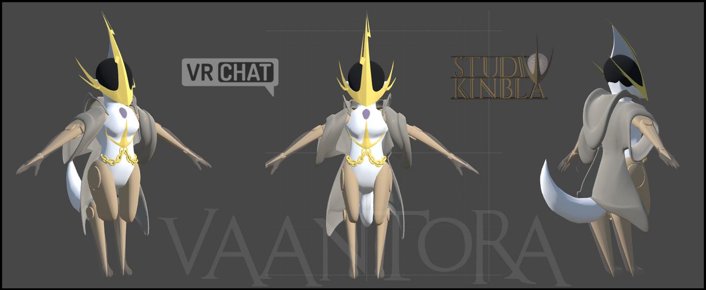 Vaantora - VR Chat Avatar by StudioKinbla