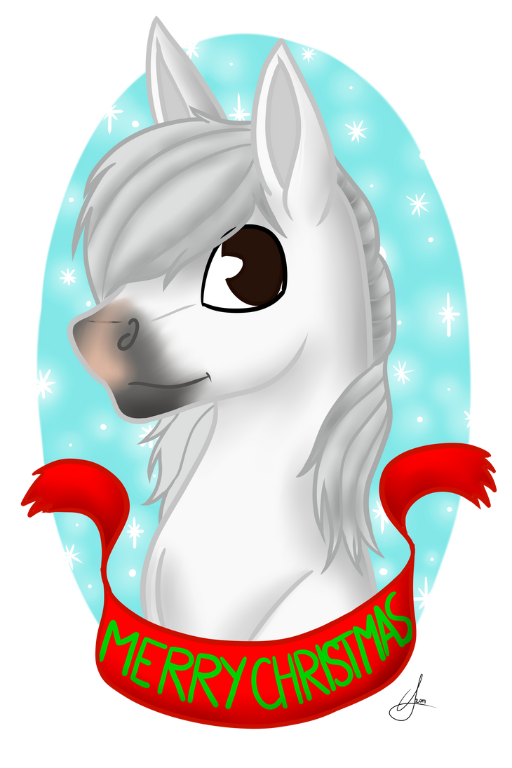 Head shot commission for Happy-Horse-Stable by TheImmortalRevenant