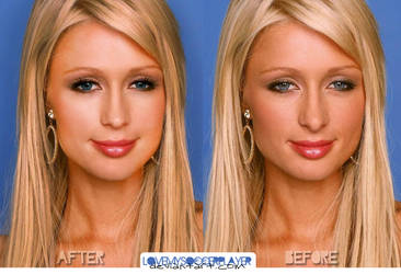 Retouch Paris Hilton by lovemysoccerplayer