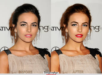 Make up Camilla Belle by lovemysoccerplayer