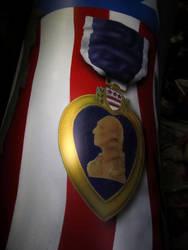 Purple Heart Medal by Airbrushman1