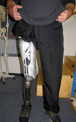 The Cyborg Prosthetic Up Close by Airbrushman1