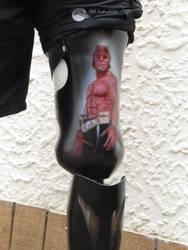 Hellboy Prosthetic