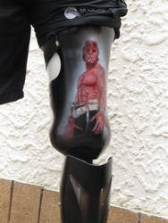 Hellboy Prosthetic by Airbrushman1