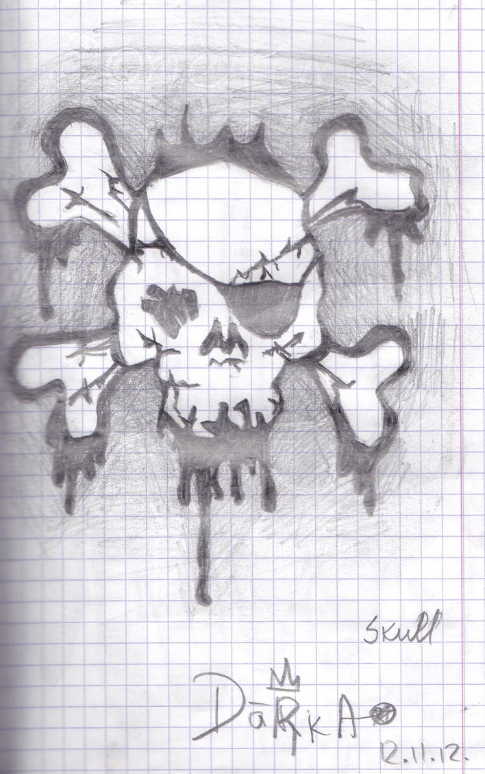 Pirate Skull by daarka7