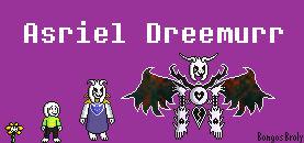 Asriel Dremmur Sprites Jus Style