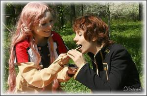 SUZAKU and EUPHIE:Sweet momens by KoujiAlone