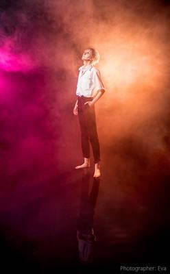 EVA KAWORU NAGISA COSPLAY standing on water