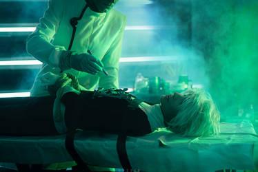 2 DANNY PHANTOM COSPLAY: Preparing to Vivisection by KoujiAlone