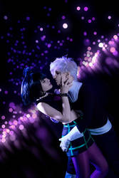 Danny and Sam dating cosplay by KoujiAlone