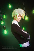 Danny Phantom cosplay GREEN BULBS by KoujiAlone