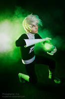 DANNY PHANTOM COSPLAY: Throwing Ectoplasm by KoujiAlone