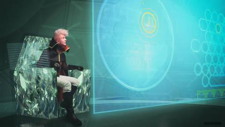 Lars of the Stars on board Sun Incinerator cosplay by KoujiAlone