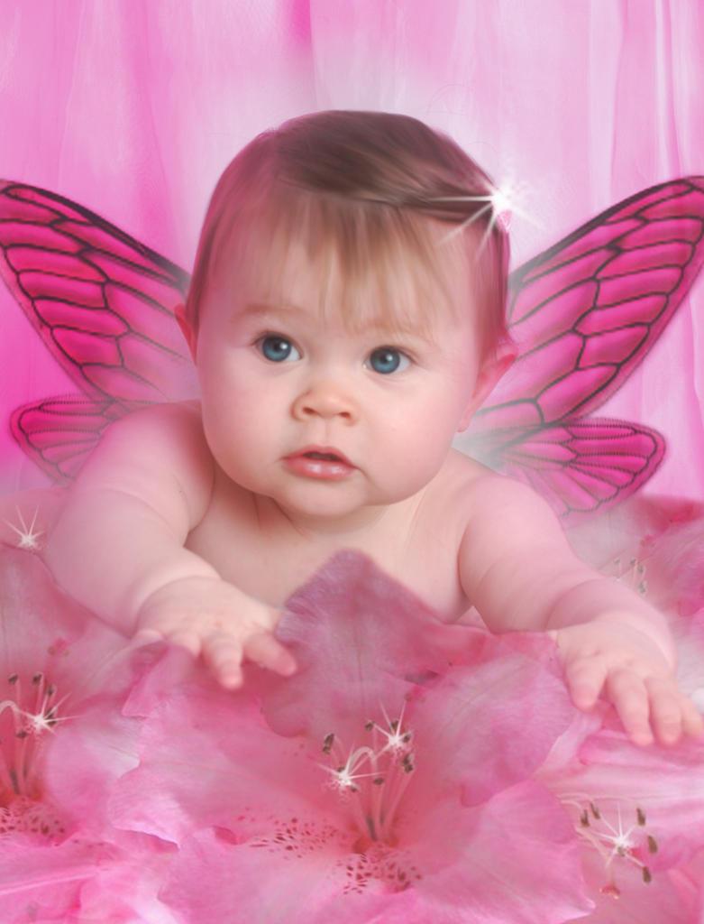 Baby Flower Fairy by koala3lw on DeviantArt