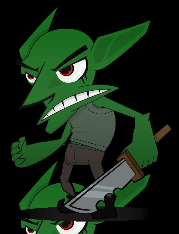 Cute Cartoon Goblin Vector goblin by shadownami92