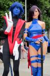 Nightcrawler and Psylocke