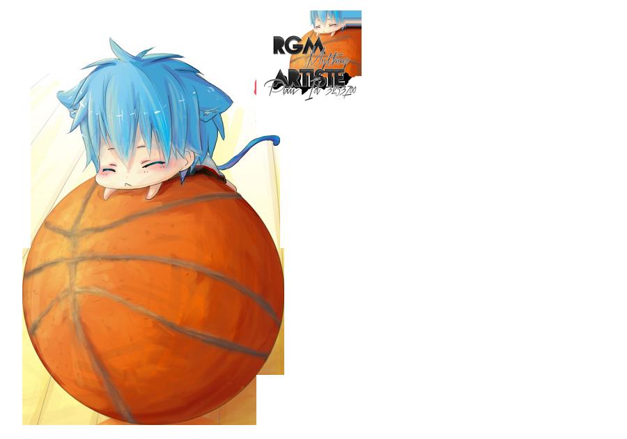 Kuroko no Basket Tetsuya Render by Nezu-nyan