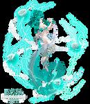 Blue Goddess Render