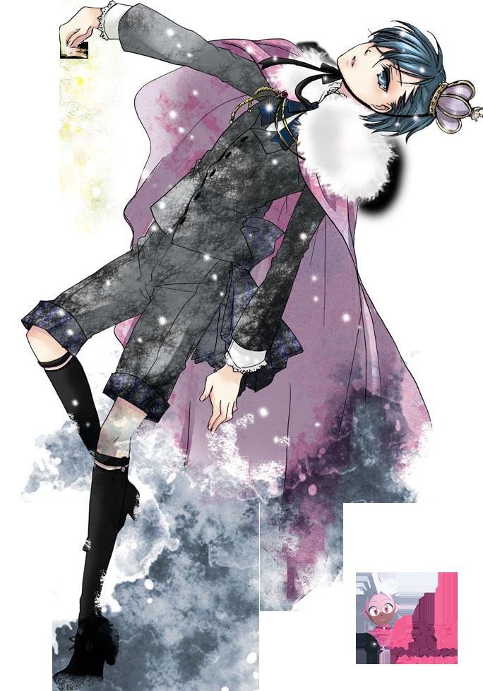 Kuroshitsuji Ciel Phantomhive Black Butler Render by Nezu-nyan