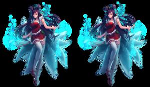 Ahri League of Legends Render