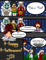 Halloween at my house by TheAnimeBabe