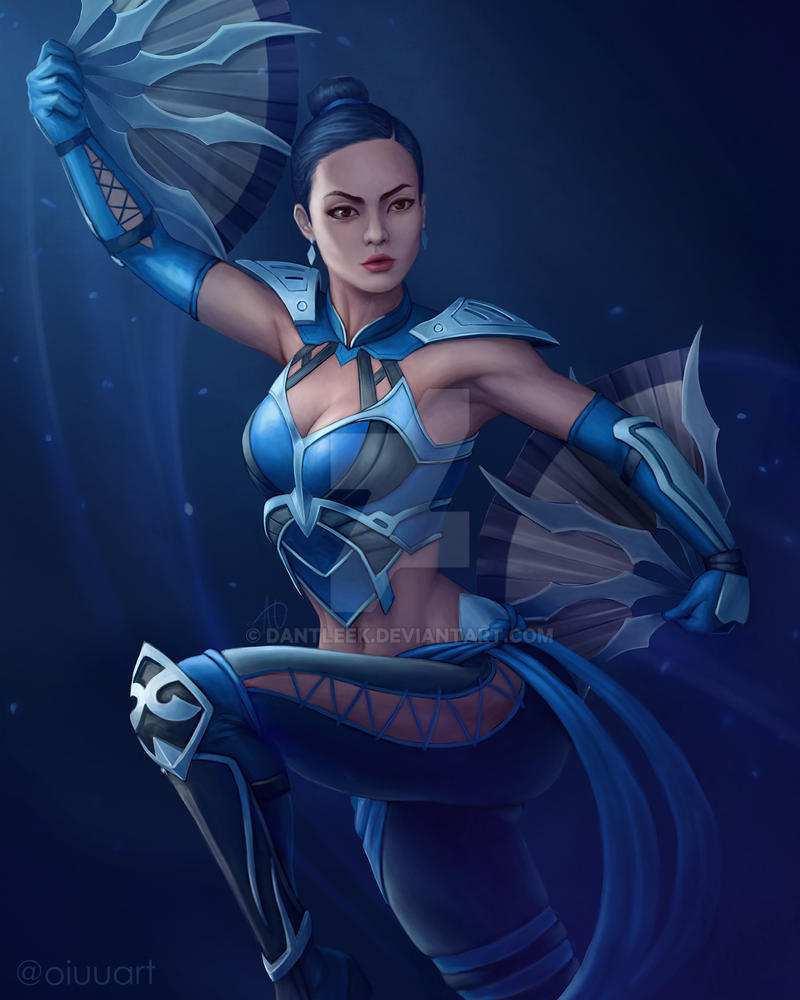 Kitana Without Mask By Dantleek On Deviantart