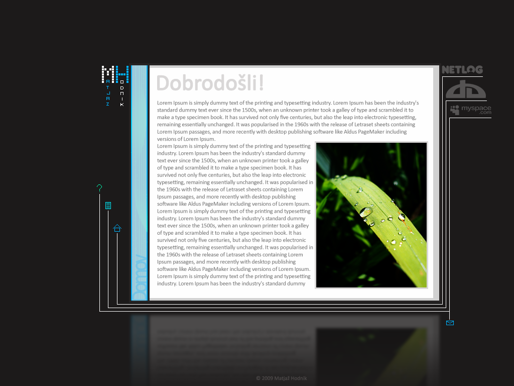 WebSite by mprox