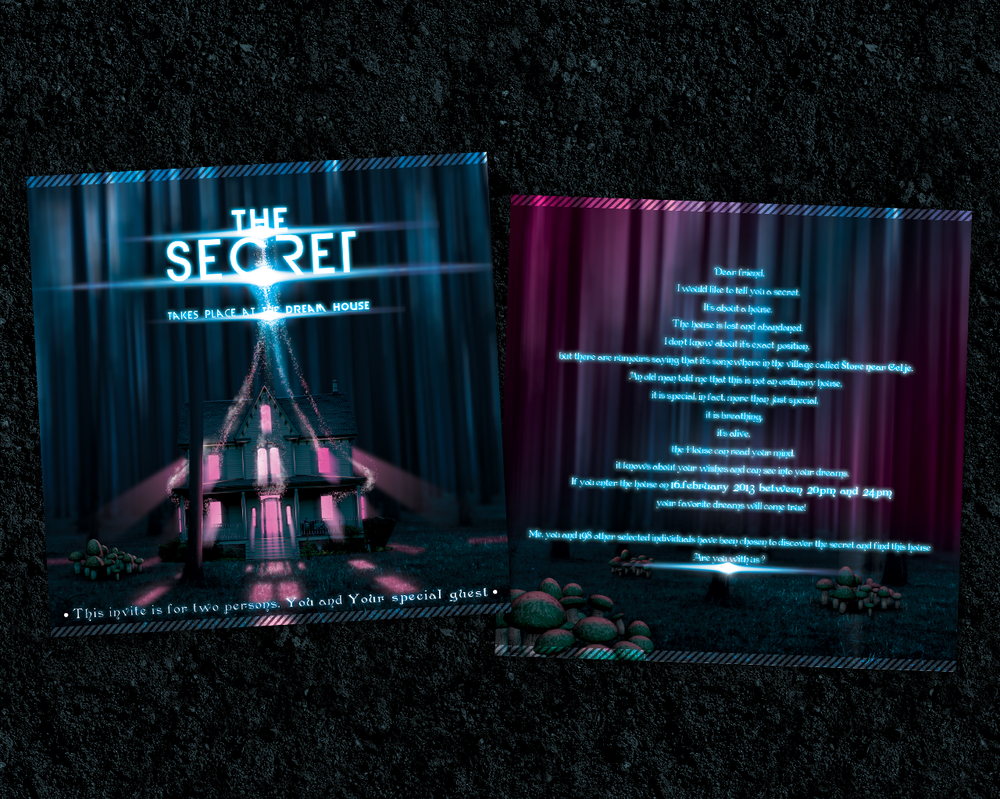 the secret flyer invitation by mprox on the secret flyer invitation by mprox