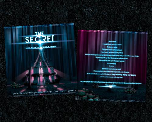 The Secret-flyer/invitation