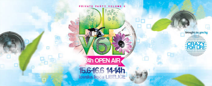Private Party flyer