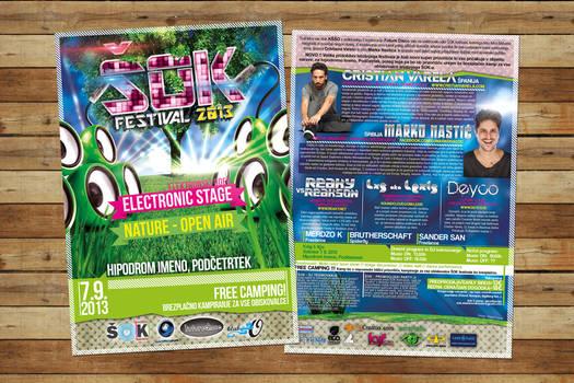 SOK Festival 2013 flyer