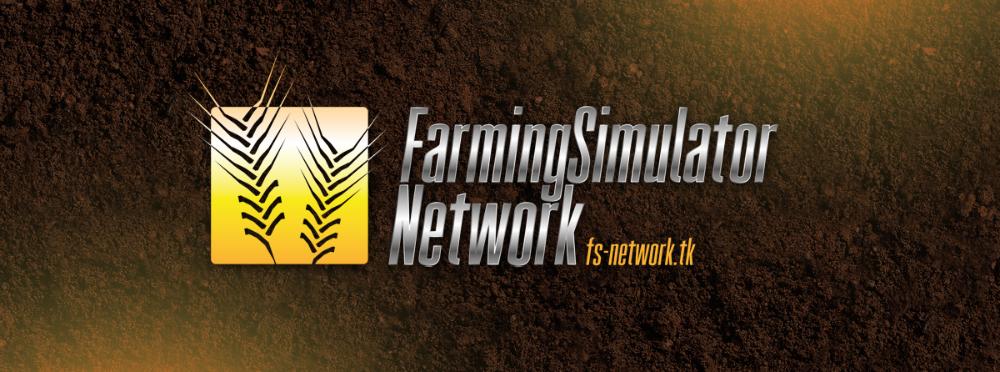Farming simulator network logotype by mprox