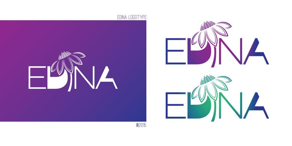 Edina logotype by mprox