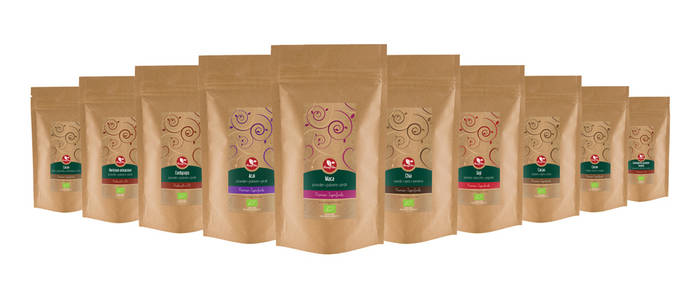 Feng-cha superfood labels
