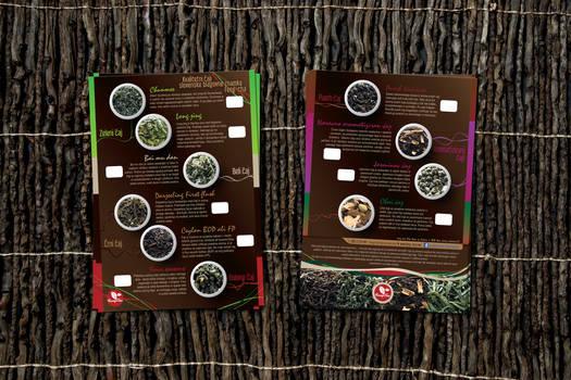 Feng-cha tea flyer