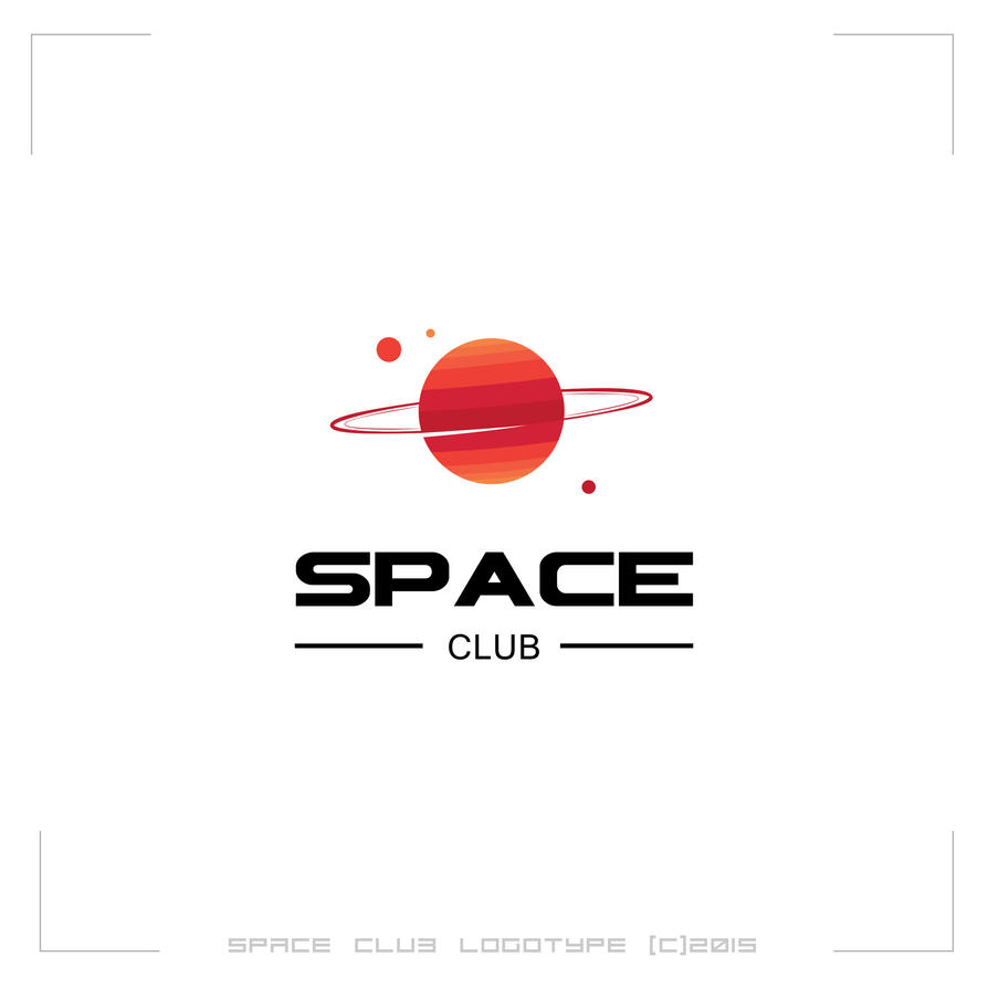 Space club logotype by mprox