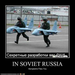 In Soviet Russia... by melizekeuh