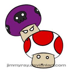 Mushrooms by JimmyRay