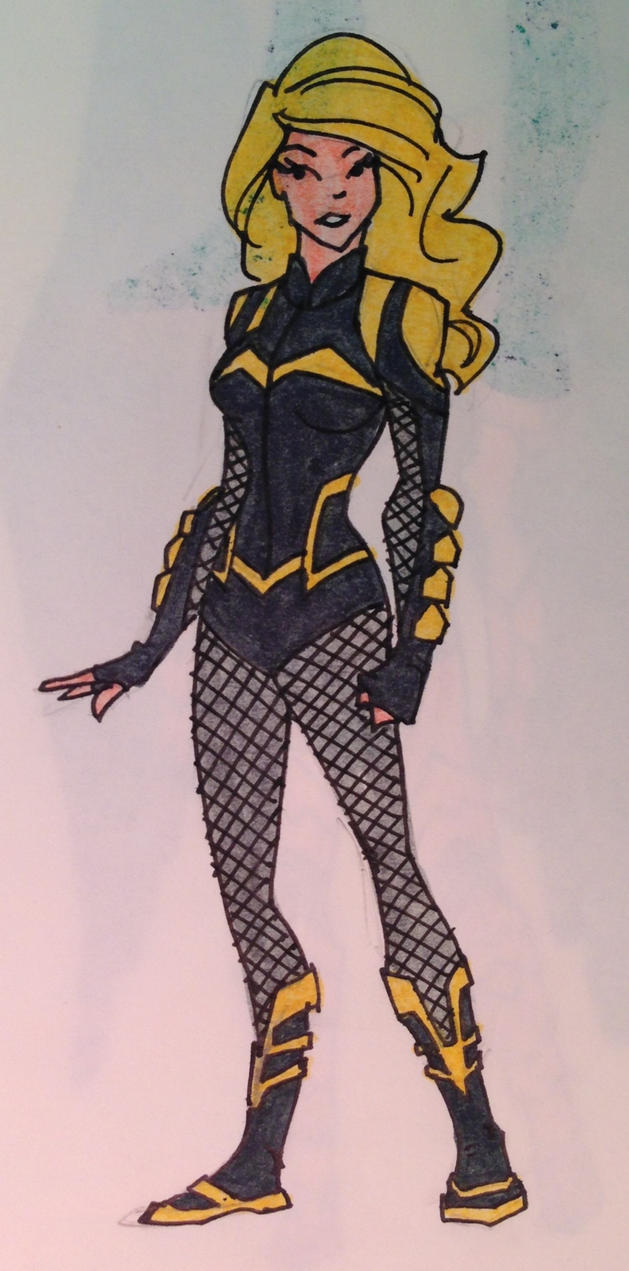 Black Canary - New 52 by waterbuffalo62 on DeviantArt