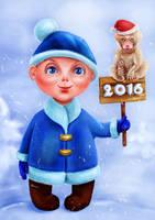 Happy New Year by Busyashka