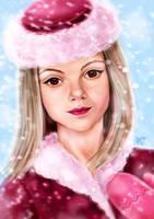 winter fairy by Busyashka