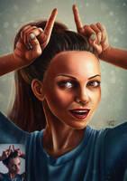 portrait study by Busyashka