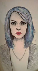 portrait by Busyashka