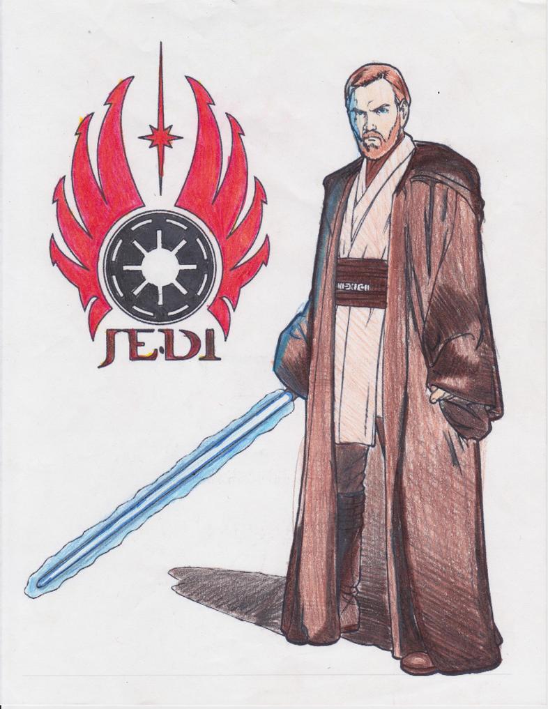 ObiWan Kenobi by MasterfulMind2274 on DeviantArt