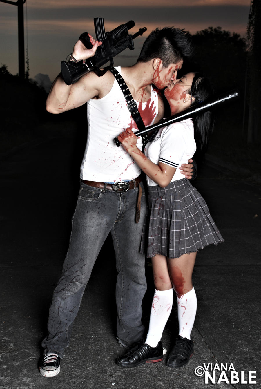 Zombie Apocalypse Survivors: The Lovers. by vmpnable on ...