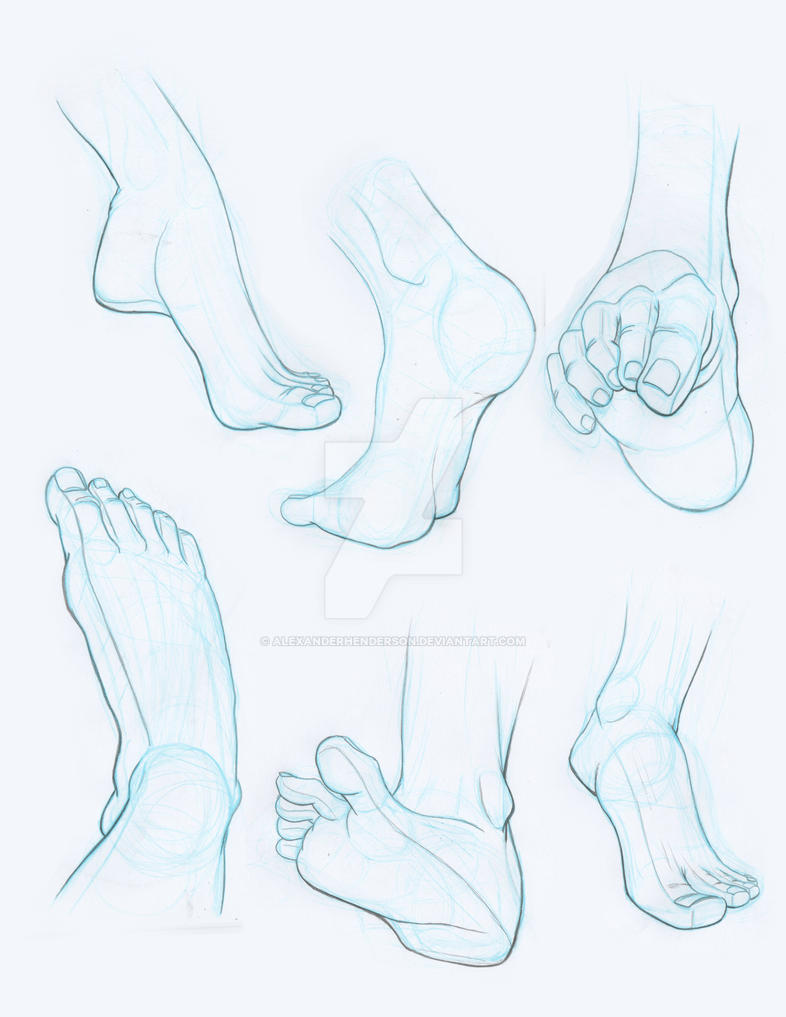 Hands and Feet 2 by AlexanderHenderson