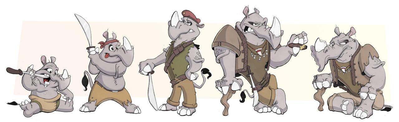 Character Timeline by AlexanderHenderson