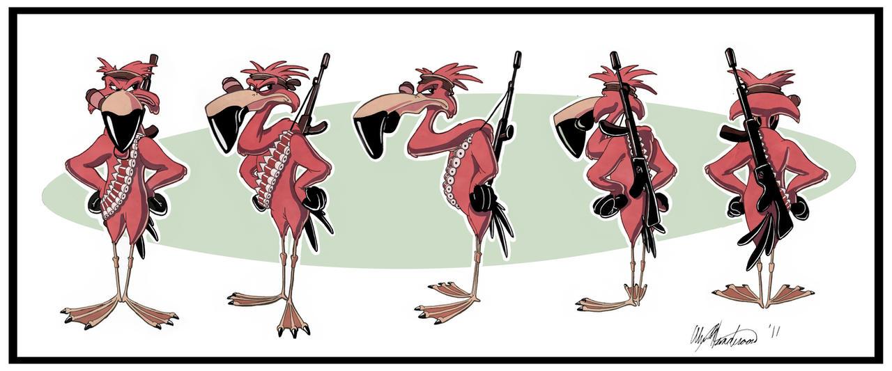 Flamingo Geurilla Rotation by AlexanderHenderson